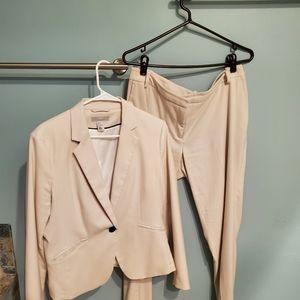 H&M tan suit